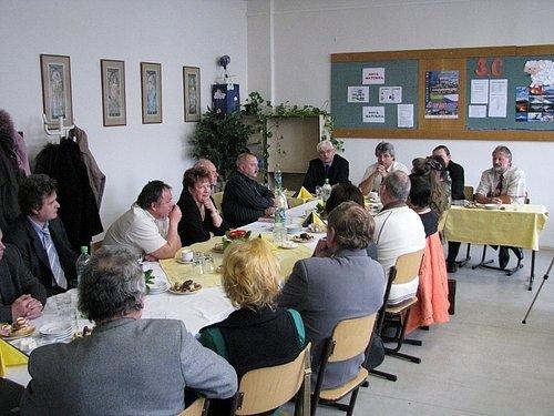 Ředitelé škol z Příbramska probírali s náměstkem hejtmana Milanem Němce problémy, které je tíží