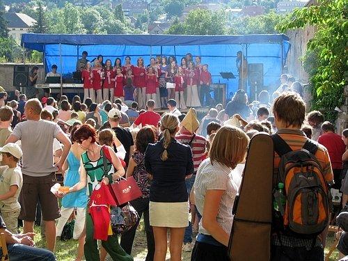 Zahradní slavnost na Základní umělecké škole v Příbrami I