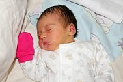Adéla Kloučková se narodila 14. Listopadu  s váhou 3,07 Kg a mírou 46 cm Tereze a Tomášovi z Příbrami.