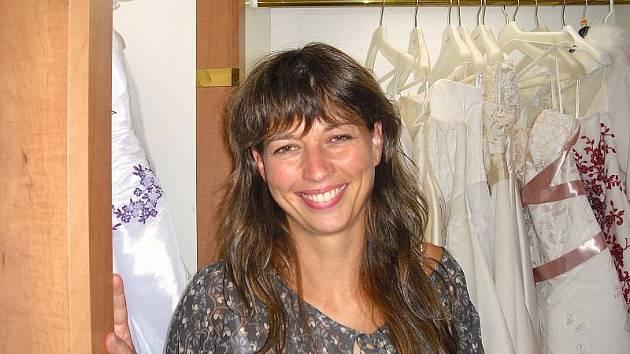 Vladimíra Blažková, majitelka svatebního salonu v Příbrami