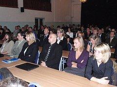 Imatrikulace studentů na Střední odborné škole a Vyšší odborné škole Březnice