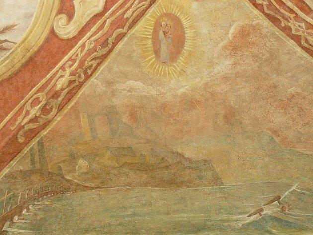 Sto svatohorských milostí: obraz číslo 79.