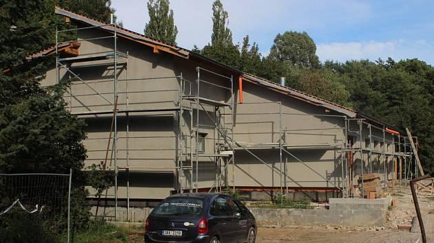 Rekonstrukce Junior klubu v Příbrami stále není u konce.