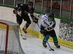 čtvrtfinále play off HC Příbram - HC Rakovník