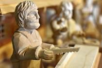 Výstava betlémů v Muzeu zlata v Novém Kníně.