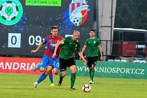 1. FK Příbram - Viktoria Plzeň 1:2.
