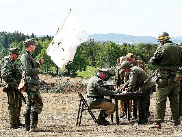 Snímek z jednoho z minulých ročníků rekonstrukce bitvy u Slivice.
