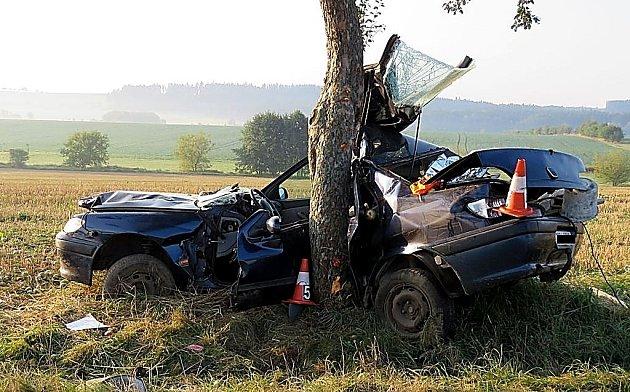 Tragická nehoda uVolenic.