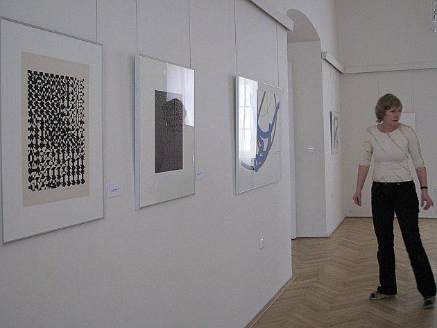 Výstava Zdeňka Sýkory Grafika