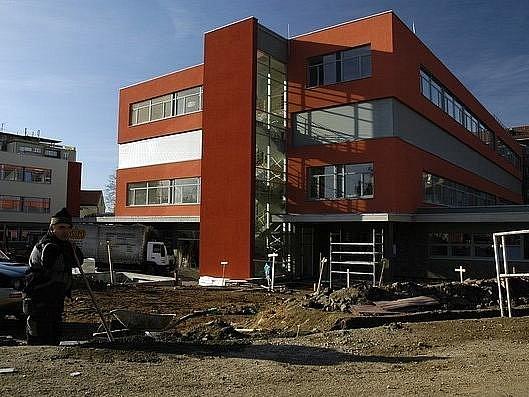 Modernizace příbramské nemocnice