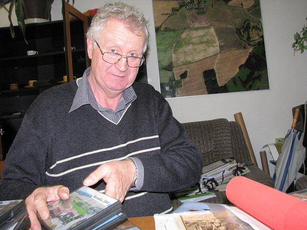 Starosta Pičína Josef Mezera.
