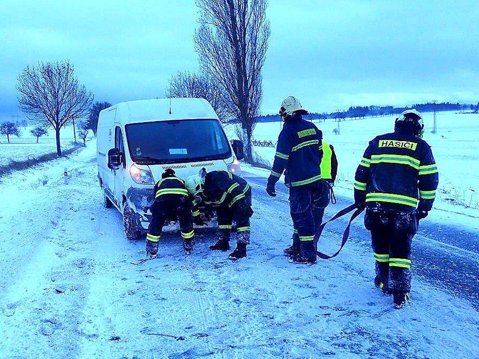 Příbramsko při středeční kalamitě patřilo k nejčastějším cílům zásahů středočeských hasičů.
