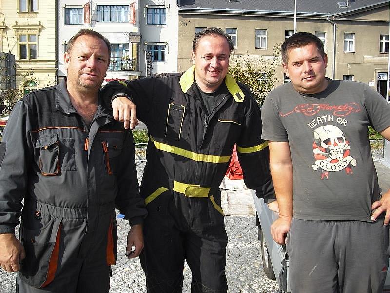 Svatováclavská pouť na náměstí TGM v Příbrami