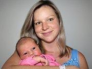 ANETA OKTÁBCOVÁ se narodila v sobotu 16. září o váze 3,41 kg a míře 51 cm jako první miminko rodičům Daně a Luďkovi z Nového Podlesí.