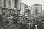 Ze slavnostního otevření Kulturního domu v Příbrami 8. listopadu 1959.