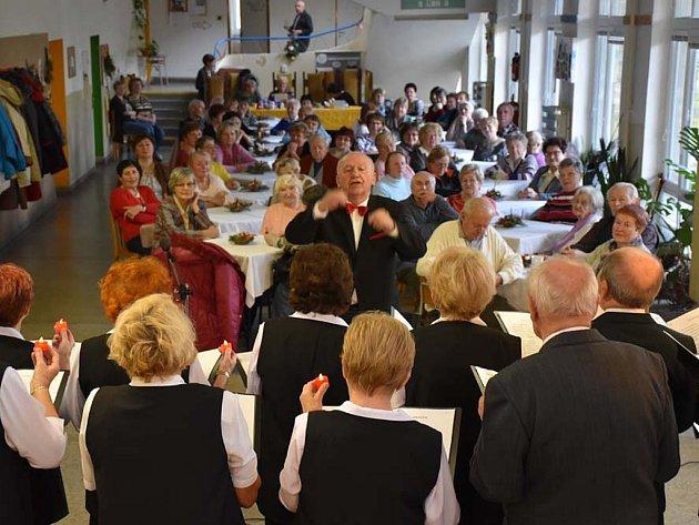 Vánoční setkání seniorů v Příbrami.