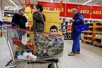 Nakupování při slevách