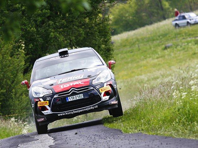 Jan Černý - Pavel Kohout na Rallye Český Krumlov.