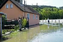Povodně v Kamýku 2013.