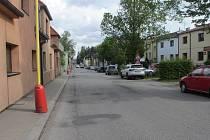 Balbínovu ulici v Příbrami čeká plánované překopání.