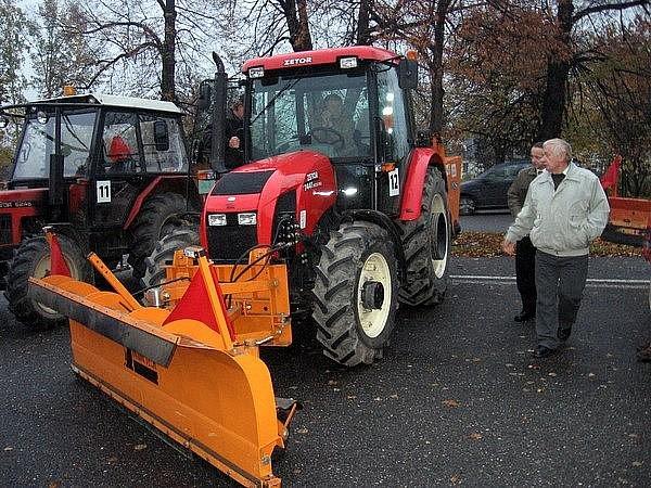 Na konci října se v Příbrami uskuteční pravidelná prohlídka techniky připravené na zimní údržbu