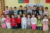 Děti v Mateřské škole Perníková chaloupka v Příbrami.