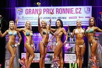 VÍTĚZKY BIKINI FITNESS  na soutěži v kondiční kulturistice Grand Prix Ronnie.cz v Březnici.