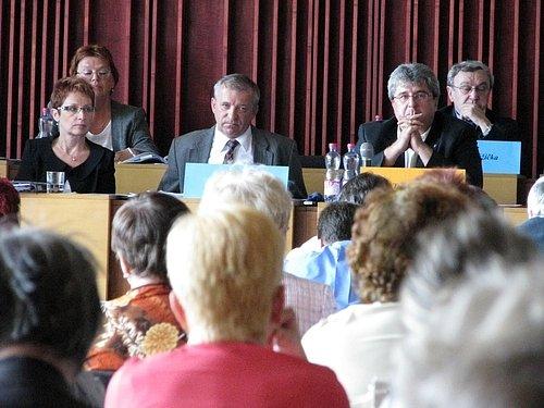 Jednání příbramského zastupitelstva. Ilustrační foto.