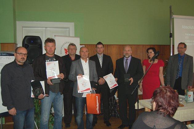 Vyhlášení ankety Top firma Příbramska 2011.