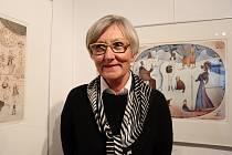 Odcházející ředitelka příbramské galerie Hana Ročňáková se loučí poslední výstavou.