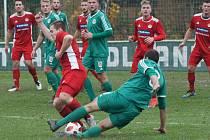 Divize A Tatran Sedlčany - Klatovy 2:3 (1:2).