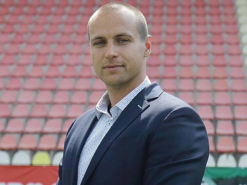 Statutární ředitel 1. FK Příbram Jan Starka.