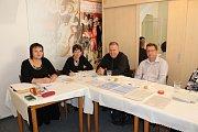V sedlčanském muzeu čekalo na voliče důstojné prostředí s uměleckými díly.