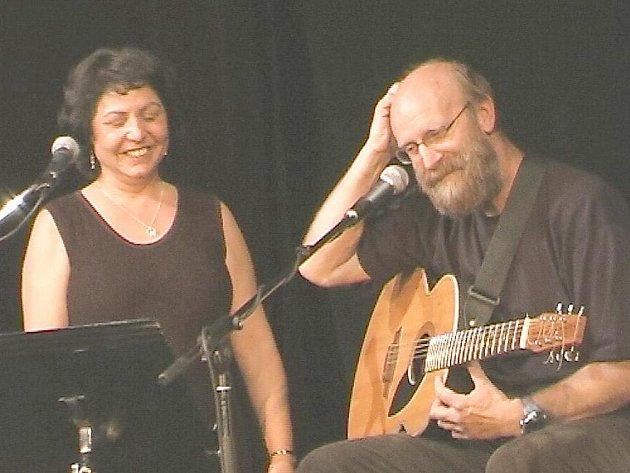 Zdeněk Hejkrlík s manželkou Janou.