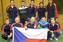 Futsalisté HFK Příbram přivezli z Německa pohár za čtvrté místo.
