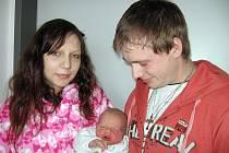 V sobotu 1. března přivítali maminka Magdaléna a tatínek Dan z Březnice na světě svého prvorozeného syna Dana Peroutku, který v ten den vážil 3,60 kg a měřil 50 cm.
