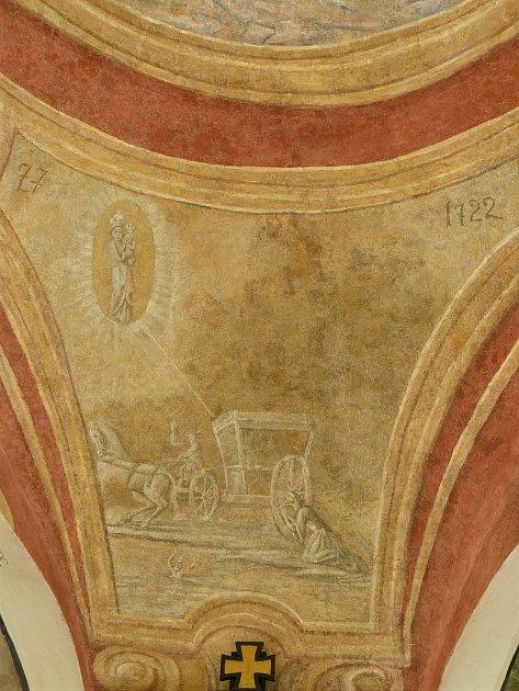 Sto svatohorských milostí: obraz číslo 77.