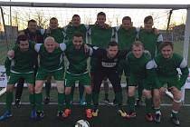 Výběr Příbrami se dočkal prvního vítězství v novém ročníku Superligy malého fotbalu.