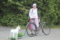 Z cyklistické 'retro' jízdy s názvem Zavržická šlapka.