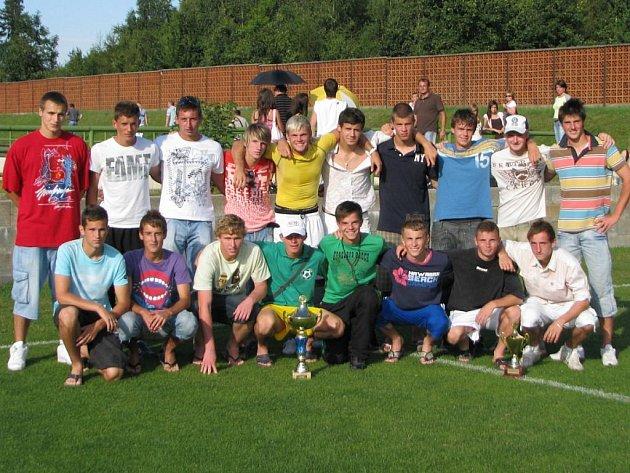 Vítěz turnaje 1.FK Příbram.