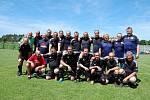 Z exhibičního utkání SG Dublovice - Sigi team.