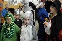 Dětský karneval v chraštické základní škole