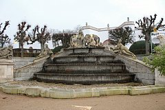 Začaly přípravy na revitalizaci francouzského parku a ten je nyní uzavřen.