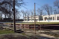 Zimní stadion v Dobříši.