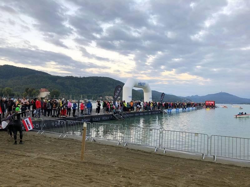 Start Ironmana v Klagenfurtu