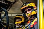 Posádka sedlčanského kamionu Big Shock! Racing týmu Martina Macíka mladšího během testovacího shake downu před startem Dakaru 2021.