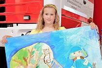 Děti zaslaly stovky výtvorů do výtvarné a literární soutěže.