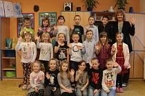 Prvňáčci v Bohutíně ve školním roce 2019/2020.