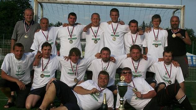 Mistr ČR 2009 v malé kopané: FC Union Brdy.
