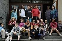 Dětský tábor v rámci projektu Provázení